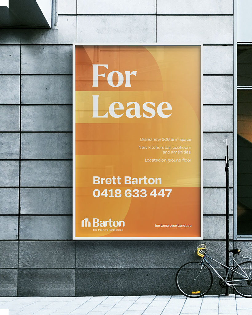 Barton Commercial Property for lease poster